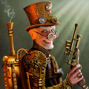 Steampunk Veteran